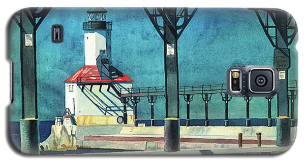 Framed Lighthouse Galaxy S5 Case
