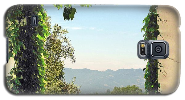 Galaxy S5 Case featuring the photograph Framing Napa Valley by Joan  Minchak