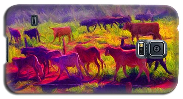 Franca Cattle 1 Galaxy S5 Case