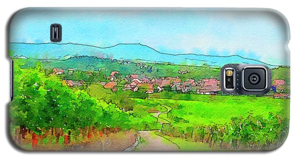 France Landscape Galaxy S5 Case