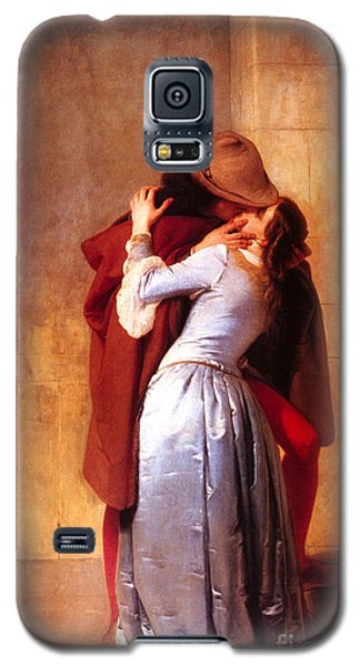 Francesco Hayez Il Bacio Or The Kiss Galaxy S5 Case by Pg Reproductions