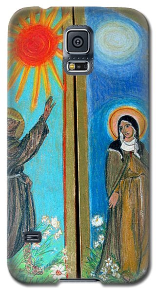 Francis And Claire Triptych Galaxy S5 Case