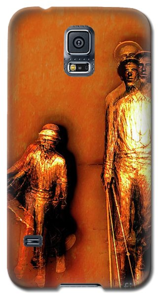 Francis D. Ouimet And Caddy Galaxy S5 Case