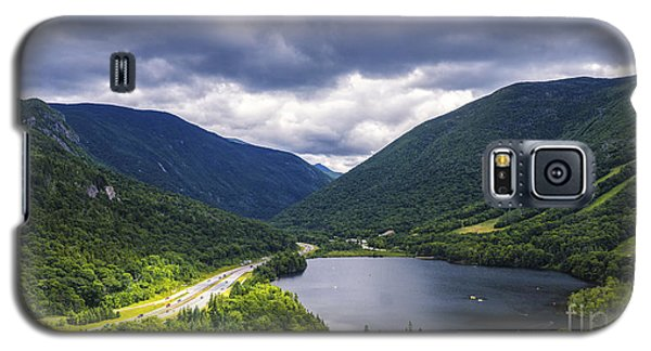 Franconia Notch And Eagle Lake Galaxy S5 Case