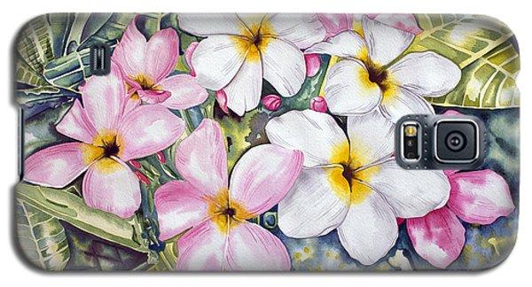 Frangipani 3 Galaxy S5 Case
