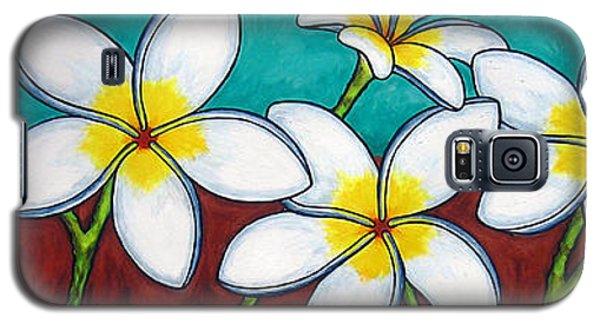 Frangipani Delight Galaxy S5 Case