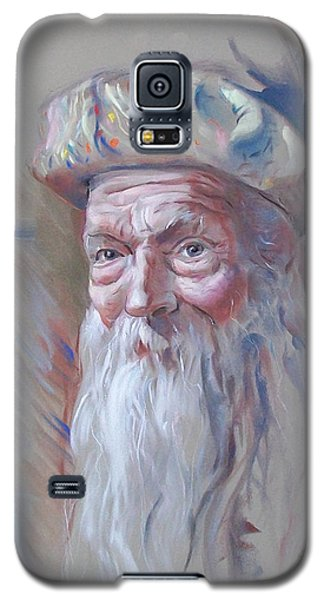 Galaxy S5 Case featuring the pastel Frank by John Norman Stewart