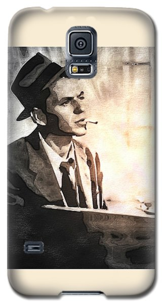 Frank Sinatra - Vintage Painting Galaxy S5 Case