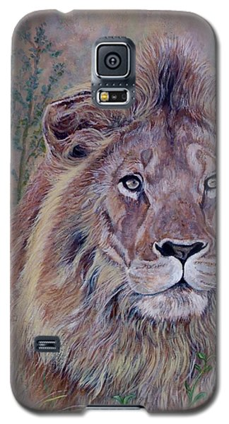 Galaxy S5 Case featuring the painting Frank by Tom Roderick