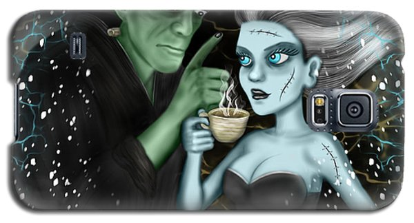 Frankenstien Fantasy Art Galaxy S5 Case