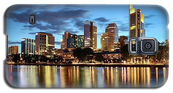 Frankfurt Skyline At Night Galaxy S5 Case