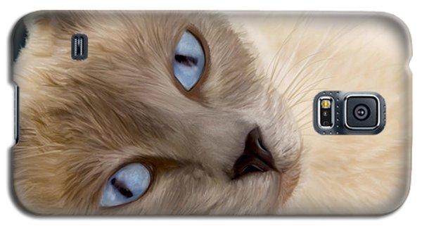 Frankie Blue Eyes Galaxy S5 Case