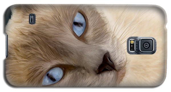 Frankie Blue Eyes Galaxy S5 Case