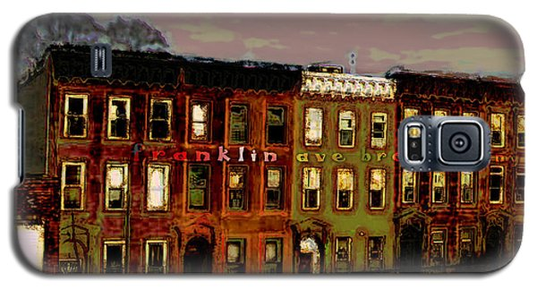 Franklin Ave. Bk Galaxy S5 Case by Iowan Stone-Flowers