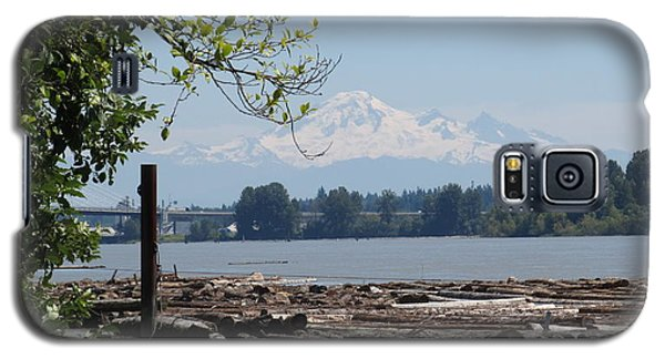 Fraser River And Mount Baker Galaxy S5 Case