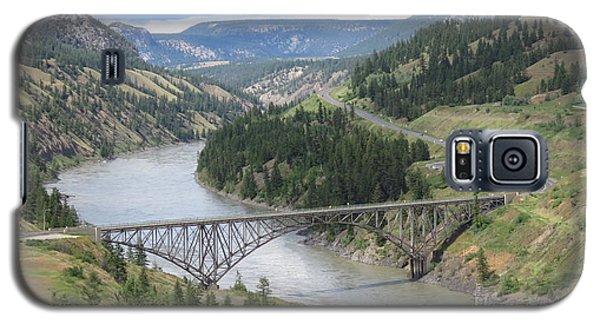 Fraser River Bridge Near Williams Lake Galaxy S5 Case