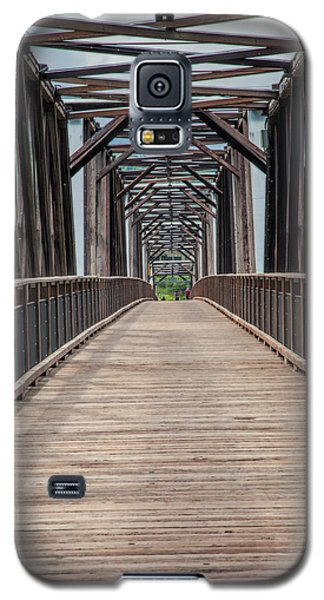 Fraser River Footbridge Galaxy S5 Case