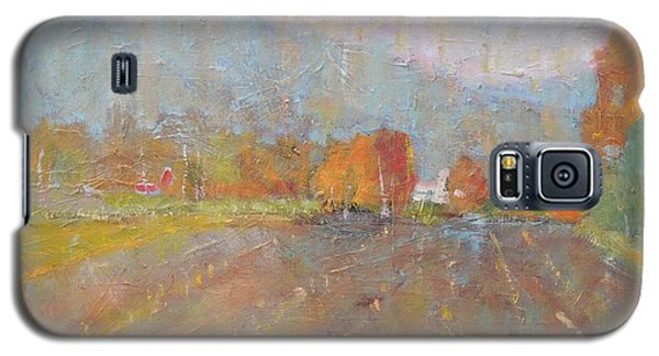 Galaxy S5 Case featuring the painting Freddie Jayko's by Len Stomski