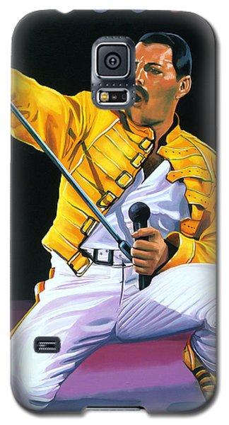 Freddie Mercury Live Galaxy S5 Case by Paul Meijering
