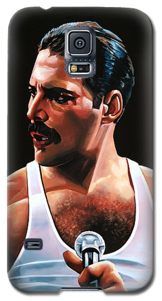 Barcelona Galaxy S5 Case - Freddie Mercury by Paul Meijering