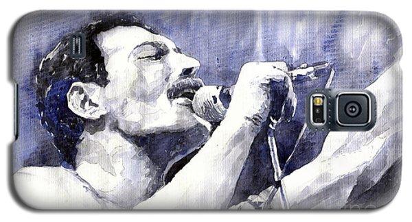 Portret Galaxy S5 Case - Freddie Mercury by Yuriy Shevchuk