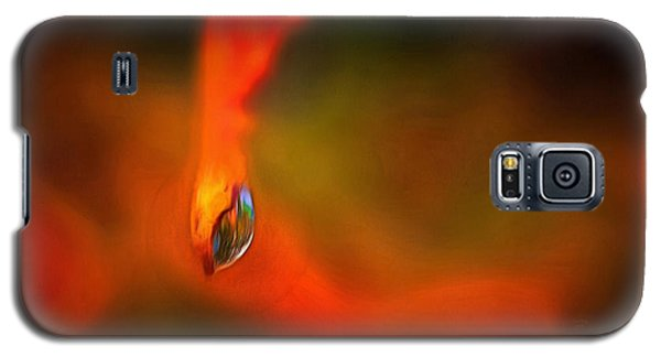 Galaxy S5 Case featuring the mixed media Freddy Fender by Trish Tritz