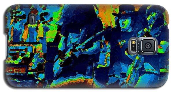 Free Bird Pastel Oakland 1 Galaxy S5 Case