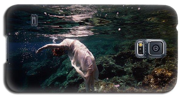 Free Mermaid Galaxy S5 Case