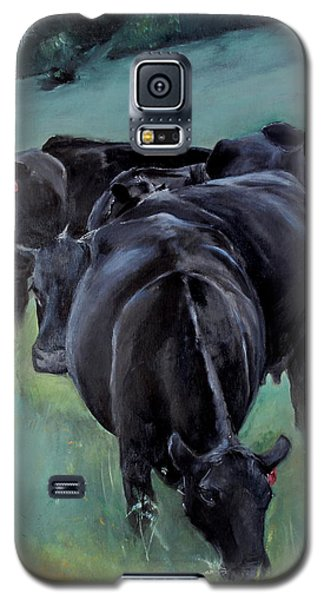Free Range Cow Girls Galaxy S5 Case