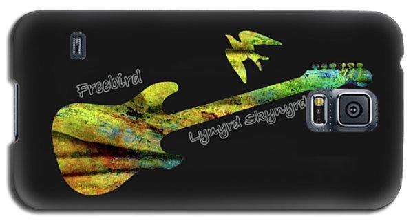 Freebird Lynyrd Skynyrd Ronnie Van Zant Galaxy S5 Case