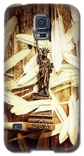 Dove Galaxy S5 Case - Freedom And Independence by Jorgo Photography - Wall Art Gallery