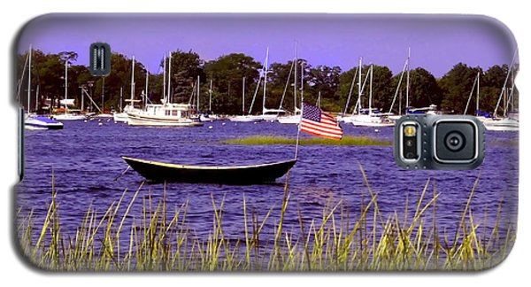 Freedom Bristol Harbor Rhode Island Galaxy S5 Case by Tom Prendergast