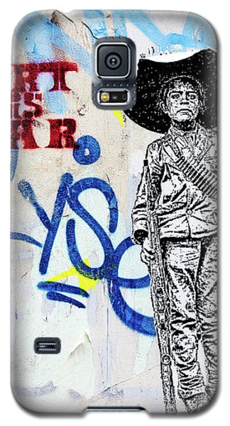 Galaxy S5 Case featuring the photograph Freedom Fighter by Art Block Collections