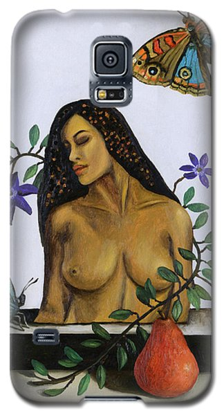 Galaxy S5 Case featuring the painting Freedom by Leah Saulnier The Painting Maniac