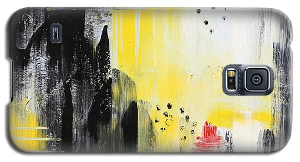 Galaxy S5 Case featuring the painting Freedom by Sladjana Lazarevic