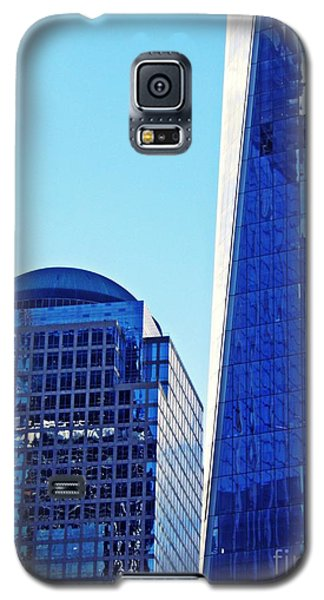 Galaxy S5 Case featuring the photograph Freedom Tower And 2 World Financial Center by Sarah Loft