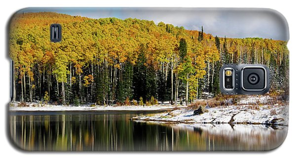 Freeman Lake In Northwest Colorado In The Fall Galaxy S5 Case