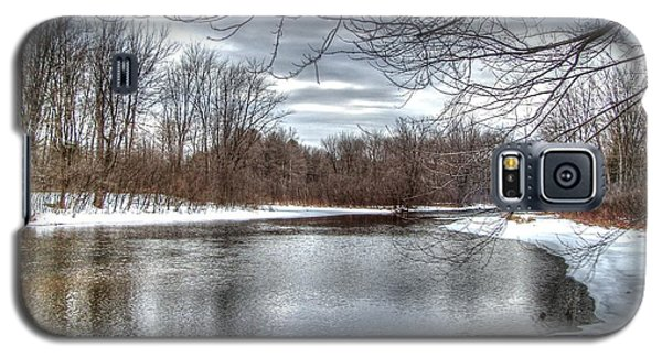 Galaxy S5 Case featuring the photograph Freezing Up by Betsy Zimmerli