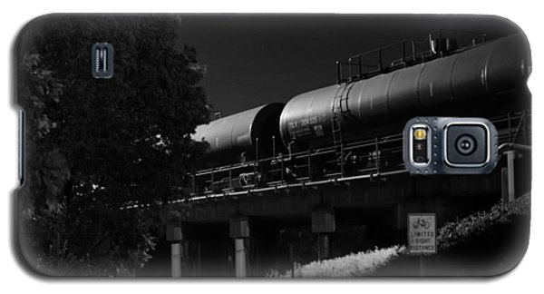 Freight Over Bike Path Galaxy S5 Case
