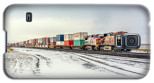 Train Galaxy S5 Case - Freight Train by Todd Klassy