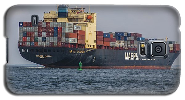 Freighter Headed Out To Sea Galaxy S5 Case