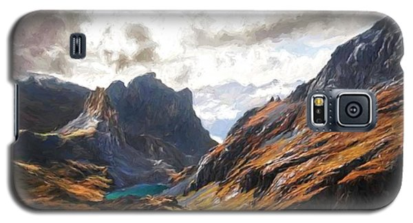 French Alps Galaxy S5 Case