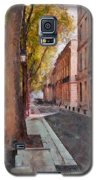 Galaxy S5 Case featuring the photograph French Boulevard by Scott Carruthers