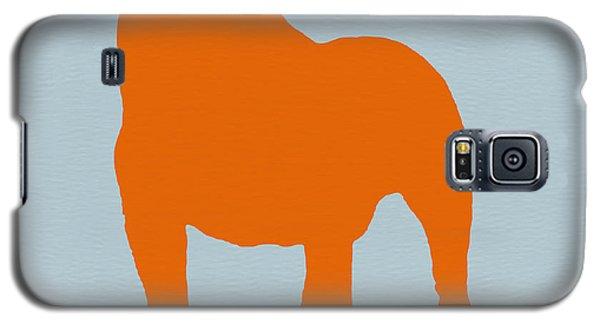 Dog Galaxy S5 Case - French Bulldog Orange by Naxart Studio