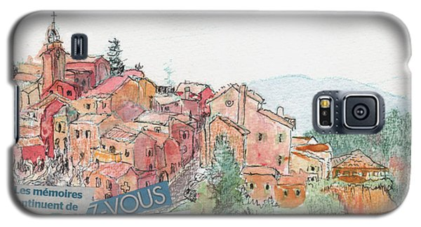 French Hill Top Village Galaxy S5 Case