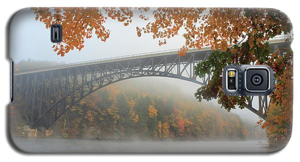 French King Bridge Autumn Fog Galaxy S5 Case by John Burk