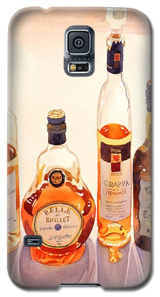 French Liqueurs Galaxy S5 Case by Mary Helmreich