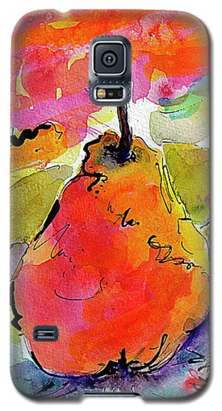 French Pears Watercolor And Ink Whimsical Art Galaxy S5 Case by Ginette Callaway