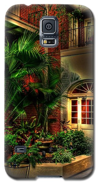 French Quarter Courtyard Galaxy S5 Case