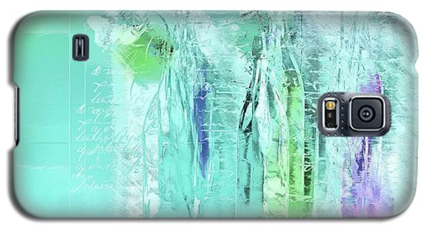 Galaxy S5 Case featuring the digital art French Still Life - 14b by Variance Collections